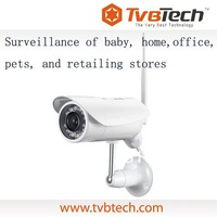 Tvbtech h.264 play & plug ip mini camera with sd card recording p2p ip camera