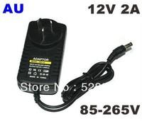 DHL free shipping DC 12V 2A Power Supply Adaptor