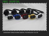 Free Shipping Fashion Sport MP3 Headphone K01 Model Suport Micro sd/TF card FM radio Retil package box