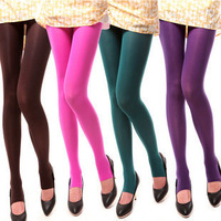 Autumn and winter velvet 120d LANGSHA pantyhose step 100d 250d thickening femalesocks