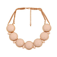 NE343 exaggerated choker chunky necklace statement gems TP-7.99
