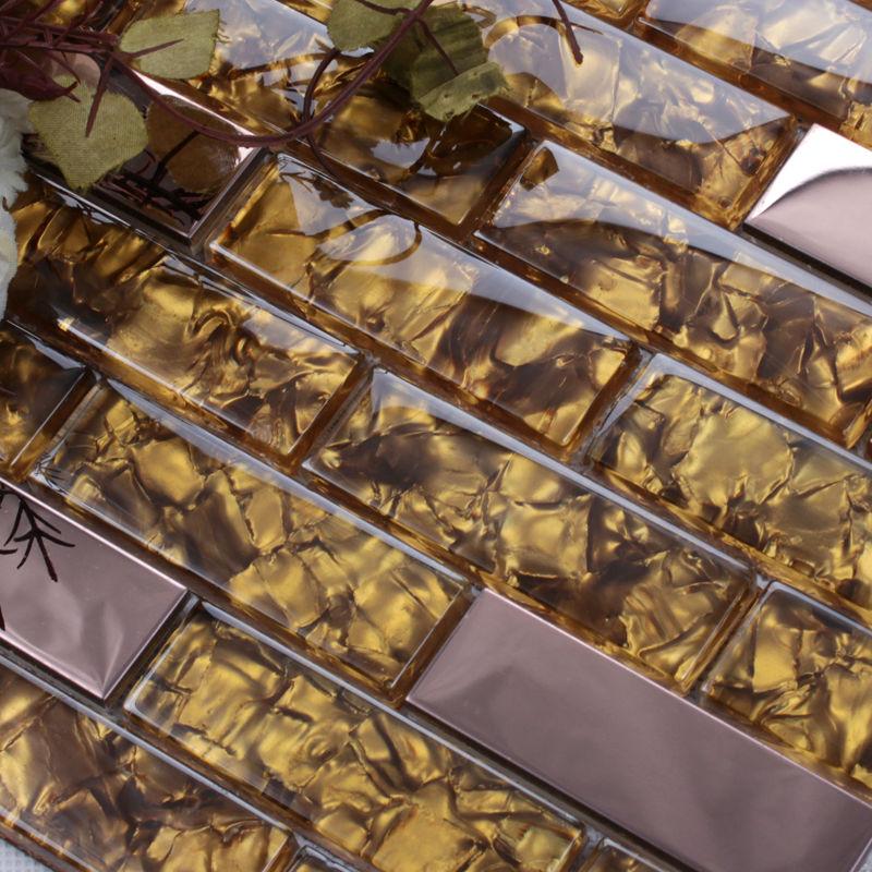Azulejos Para Baños Hello Kitty:Glass Stone Metal Mosaic Tile Backsplash