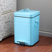 Fashion trash bucket pedal household fashion double home household glenworth street as powder
