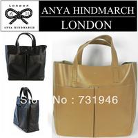 free shipping  Anya Hindmarch Nevis leather tote handbag   fashion bag anya hindmarch 2013 brown