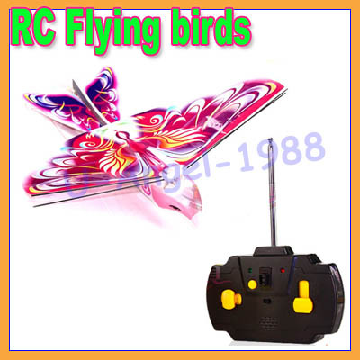 2013 New toys! Helicopter! redio control flying bird e bird toy hobbies rc bird hunter! E-BIRD+free shipping(China (Mainland))