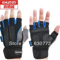 Men's sports gloves fitness gloves breathable women training equipment outdoor half-finger gloves wrist extension