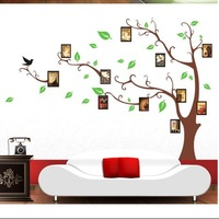 Fation DIY Memory Tree Photo Large Size 90*60cm Wall Sticker /Wall Decal /Wallpaper/ Room Sticker/House Sticker Free Shipping