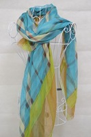 FREE SHIPPING/GREATQUILITY/Stripe printing/180*110CM/100%VISCOSE SCARF FOR WOMEN FOR 2013 FALL/FISHION STYLES/ BEST SALERS