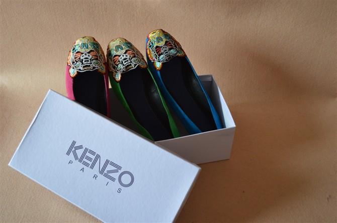 Женская обувь на плоской подошве 2013 Fashion Lady flat-bottomed embroidered tiger head shoes