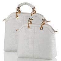 2013 women's spring handbag crocodile pattern honourable elegant one shoulder handbag messenger bag