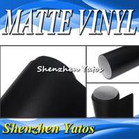 Black Matte Automobile Full Body Car Folie Vinyl Stickers 5M/10M/15M/20M/30M