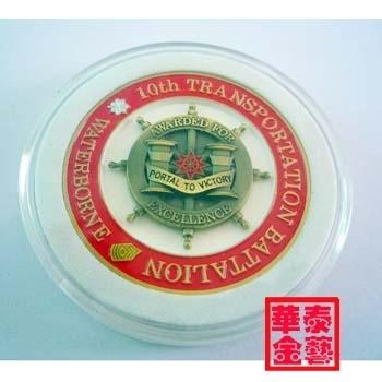 soft enamel challenge coin