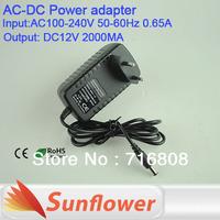 24W Switch LED Power Supply 12V/2A ,AC100-240V input,12v power supply CE&ROHS 2 years warranty!!! Free Shipping China post