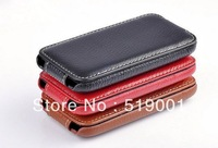 ANKI Original Flip Leather Case Cover Full Skin Pouch Protector For iPhone 3G/3GS FreeShipping Dropshipping