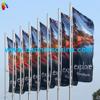 Flying Flag Banner for Outdoor Use