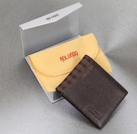 Latest design fashion leather wallet for men