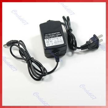 J34 Free Shipping CCTV Security Camera 110V 220V AC Power Supply Charger 12V 1A 1000mA DC Adapter