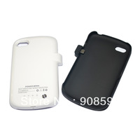Black white 2800mAh External Backup Power Bank Battery Charger Case for Blackberry Q10 Free Shipping