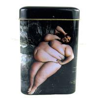 Personalized cigarette case tin cigarette case 20 fat