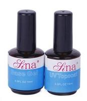 2pcs primer base and top coat uv gel nail art oil Free Shipping