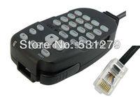 5pcs/lot 8 PIN Handheld Speaker Mic for ICOM Car Radio IC-2200H IC2100H IC-2710H IC-2800H walkie talkie accessories J0197A