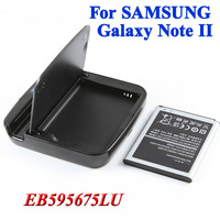 2 pcs 3100mAh EB595675LU battery Bateria Battery + 1 x battery  charger for Samsung Galaxy Note II 2 GT N7100 N7102 N7108 N719