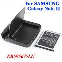 2 pcs 3100mAh EB595675LU battery Bateria Battery + 1 x battery  charger fo Samsung Galaxy Note II 2 GT N7100 N7102 N7108 N719