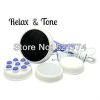 New Hot Selling Professional Body Sculptor Massager Relax Spin Tone Gift Wholesale Free Shipping