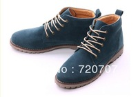 Free shipping new arrival 2013 spring martin boots men's high-top sneakers for men Fashion Casual leather Sneakers
