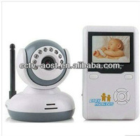 "Free shipping! 2.4""TFT Wireless Digital Baby Monitor watch IR Video Talk one Camera Night Vision video/Baby Monitor ModelAST-516"
