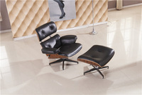 Lounge chair, luxury full top grain leather recliner chair and ottoman set, 360 degree whirl Office chair, home chair set  YY01