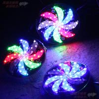 Free shipping, Refires motorcycle lighting pedal flash lamp 12v led bicycle refires lantern flasher 13