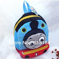 Free shipment new products for 2013 kids' cute backpacks anime thomas the train plush backpacks
