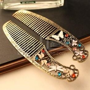 E045 fashion retro comb Hair accessories (A price)