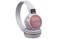 Low Price Rechargeable Headphones Wireless with FM Radio TF Slot, Unique Headphones with Flash Light , Online Wholesale