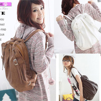 New Hots Korean Style Girl's PU Leather Backpack For Women Hotsale New Wholesale Price HSB-006