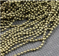 Free Shipping Wholesale DIY 1.5mm Antiqued Bronze Vintage Iron Making Necklace Bracelet Beads Chain Handmade Accessories 10M