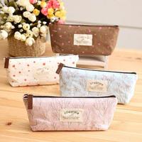 1Pcs Nice Flower Floral Pencil Pen Case Cosmetic Makeup Bag Storage Pouch Purse