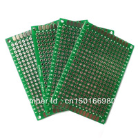 5pcs 4x6cm Prototype PCB Panel Universal Board Double Side Printed Circuit Board