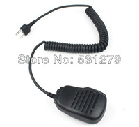10 x New 2 Pin Handheld Shoulder Speaker Mic for ICOM radios IC-F3/F4/F10/F11/F21 IC-W32A IC-T7H/T2H SP100/120 SL25/55 J0318A
