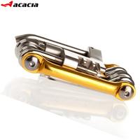 Free shipping, Acacia bicycle multifunctional combination tools mountain bike repair tool ride belt set