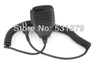 5pcs/lot New black Handheld Shoulder Speaker MIC Microphone for radio ICOM IC-F3/ IC-F3S/ IC-F4 Radios 2 Pin Jack J0306A