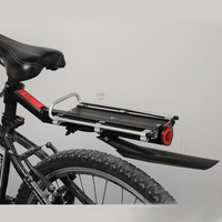 Free shipping, Acacia bicycle after stacking shelf tailstock bicycle accessories disc v belt fended reflectorised rear light