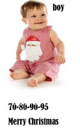 2013 fashion NEW arrive baby christmas clothing boy clothing Santa Claus design romper baby cute jumpersuit