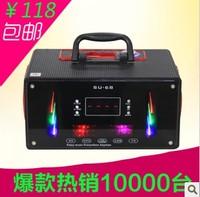 Semiportable su-68 portable card speaker high power outside sport audio pluggable usb flash drive sd