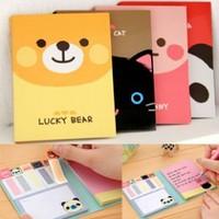 free shipping 1pcs Angel zimu stationery cartoon small animal memo pad n times stickers