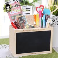 free shipping 1pcs Angel zimu stationery wool small blackboard double pen chalk eraser