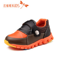 Red DRAGONFLY children shoes male child children 2013 autumn new arrival fashion light single shoes leather 511x33f310