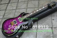 Classic  SE paul allender Electric Guitar, Purple color Guita