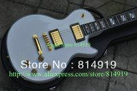 Alpine white supreme Electric Guitar ebony fingerboard gold hardware